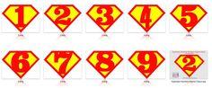 Risultati immagini per superman logo numbers