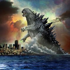 Godzilla City Scene