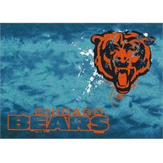 Chicago Bears Rug Team Fade Mat