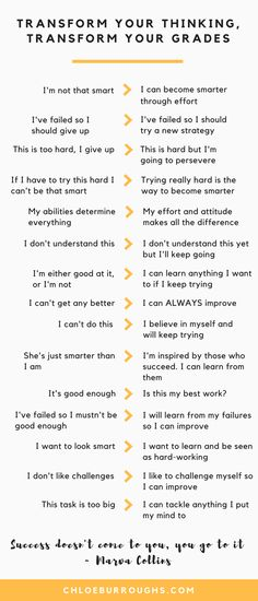 Develop a growth mindset for higher university and college grades. Grab your free guide and work sheet. Learn how to develop a growth mindset and believe you can become more intelligent. See your motivation and grades increase dramatically. Life Hacks For School, School Study Tips, School Tips, College Study Tips, School Stuff, School Lessons, School Ideas, Study Motivation Quotes, Homework Motivation
