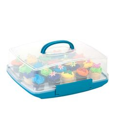 Love this Rectangle Cake & Cupcake Food Storage Container on #zulily! #zulilyfinds