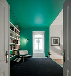 Amazing home..LOVE the use of color and open spaces!