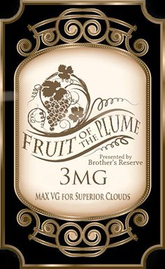 fruit of the plume fog machinelabel templateswine