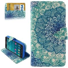 National Style Flower Pattern Horizontal Flip Leather Case with Card Slots & Wallet & Holder for Samsung Galaxy Grand Prime / G5308