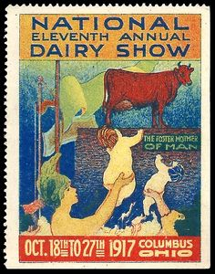 NATIONAL DAIRY SHOW ~ 1917