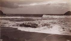 GEORGE FISKE  1835 - 1918 Instantaneous Ocean View. 1883-84