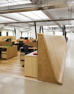 THQ office in Canada by ID+S.
