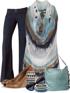 """""""Trouser Jean"""" by angiejane on Polyvore"""