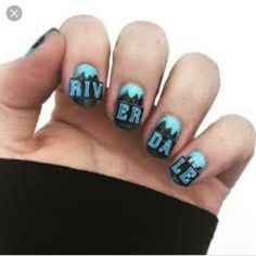 - Source by aefasshauer - Aycrlic Nails, Cute Nails, Henna Designs, Nail Designs, Riverdale Fashion, Riverdale Cole Sprouse, Riverdale Memes, Best Acrylic Nails, Makeup For Beginners