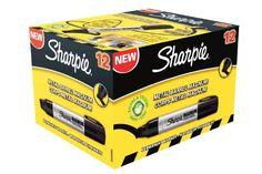 From 6.25 Sharpie Metal Magnum Extra Large Chisel Tip Permanent Marker Black