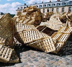 Tadashi Kawamata - Wooden Installation