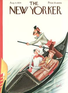 The New Yorker - Saturday, August 11, 1934 - Cover by Constantin Alajálov