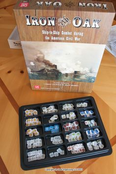 Organize Board Game Pieces with GMT Counter Trays.