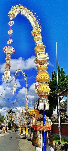 Happy Galungan & Kuningan. #bali #indonesia #travel