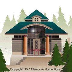 Alternative home building techniques alternative for Homplans