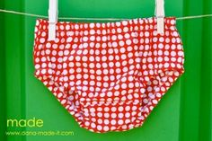 Free diaper cover sewing pattern
