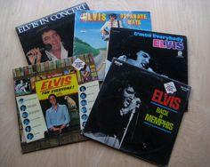 "SALE Elvis Presley 5 Vinyl Record Bundle! ""For Everyone"" ""Back In Memphis"" ""In Concert"" ""C'mon Everybody"" ""Separate Ways"" 2 are SEALED!"