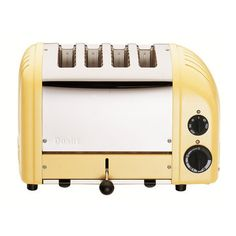 Classic 4 Slice Toaster Canary by Dualit #productdesign #industrialdesign