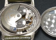 50's RECORD WATCH C.174 Indicator auto