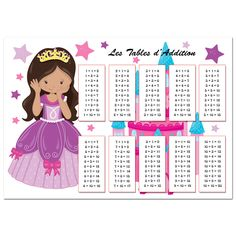1000 Id 233 Es Sur Le Th 232 Me Tables D Addition Sur Pinterest