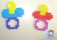 Speen van strijkkralen, thema baby, Kindergarten craft, teat hama beads, kleuteridee.nl