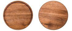 Black Walnut Trencher Board (Circular) - Kaufmann Mercantile