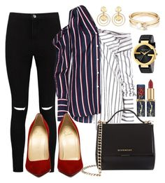 """""""Untitled #79"""" by bykaty on Polyvore featuring Boohoo, Monse, Givenchy, Gucci, Loren Stewart and Kenneth Jay Lane"""
