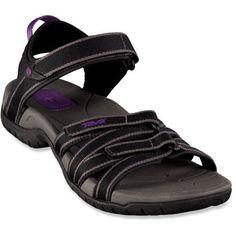 [Got it] - Teva Tirra Sandals - Women's (black and purple)