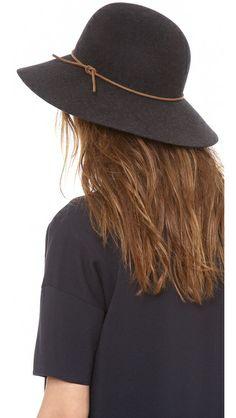 Rag & Bone | Dunaway Hat in black