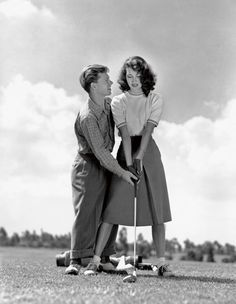 Mickey Rooney and Ava Gardner