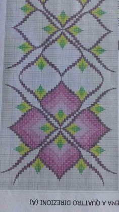 Discover thousands of images about Resultado de imagen para bargello embroidery patterns Broderie Bargello, Bargello Needlepoint, Needlepoint Stitches, Needlework, Cross Stitches, Hardanger Embroidery, Diy Embroidery, Cross Stitch Embroidery, Embroidery Patterns