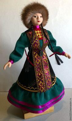 #bashkirskaya kukla, #Кукла Айсылу в башкирском национальном костюме, #сувенирная авторская кукла, #кукла на подставке, #башкирская кукла, #башкирская