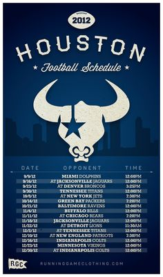 7a06902b947 2012 Houston Football Schedule (cortesy of