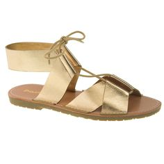 Best Spring Sandals Under 50: Metallic Gladiator Sandals