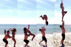 #cheer #cheerleading #partner #stunt #coed #flip #strength