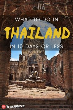 Deciding what to do in Thailand? Get started planning the ultimate trip with this complete 10-day Thailand itinerary!