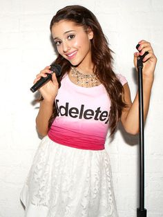 Ariana Grande working with Seventeen Magazine and the Delete Digital Drama Campaign. STOMP Out Bullying is honored to be the charity partner!