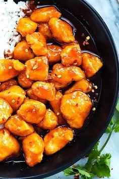Slow Cooker Firecracker Chicken by Creme De La Crumb Slow Cooker Recipes, Crockpot Recipes, Chicken Recipes, Cooking Recipes, Healthy Recipes, Chicken Meals, Delicious Recipes, Keto Recipes, Healthy Food