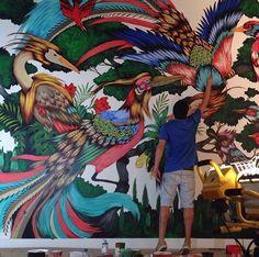 Mateus Bailon at work in Miami, 12/15 (LP)