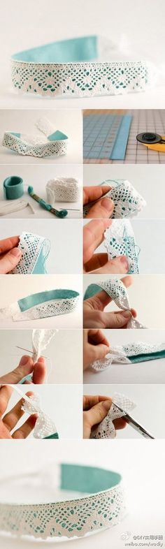 diy // hair accessories @ DIY Home Cuteness