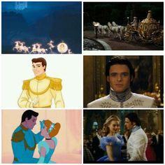 Cinderella 2015 and 1950 ♥
