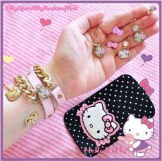 金曜日はいつも以上におしゃれして気分もアップ♡!  キティちゃんのキュートなアクセサリーでもっとお洒落を楽しもう♪   Dress up a bit more than usual on Friday because the weekend is right around the corner!  Layer on some cute Hello Kitty accessories and be fashionable♡   Photo taken by Princess Min on Kawaii★Cam    Join Kawaii★Cam now :)   For iOS:   https://itunes.apple.com/jp/app/kawaii-xie-zhen-jia-gonghakawaiikamu*./id529446620?mt=8    For Android :   https://play.google.com/store/apps/details?id=jp.co.aitia.whatifcamera    Follow me on…
