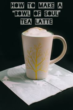 Tea Recipe: How to Make a Bowl of Soul Tea Latte | The Baking Bird