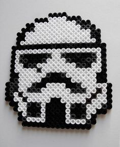 Stormtrooper - Star Wars hama beads by Crapules