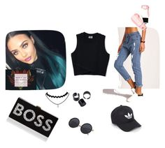 """""""#polyvore women"""" by daisyhuijer on Polyvore featuring mode, Milly, Daya en adidas"""