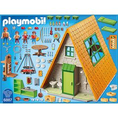 PLAYMOBIL® 6887 Großes Feriencamp, PLAYMOBIL Summer Fun | myToys Play Mobile, Collection Playmobil, Playmobil Sets, Funny Parrots, Shoulder Bags For School, Interactive Toys, Toy Rooms, Lego Disney, Heart For Kids