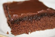 Deep South Dish: Buttermilk Chocolate Texas Sheet Cake