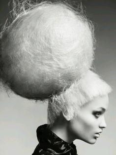 candyfloss hair