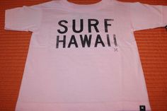 Hurley Toddler's Pink Surf Hawaii Size 4T Tee Shirt T Shirt Surfer Girl Cute   eBay