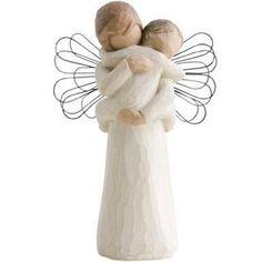 willow tree angel images | Amazon.com: Willow Tree Angels Embrace Figurine, Susan Lordi 26084: Su ...